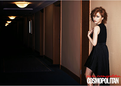 Ga In Brown Eyed Girls - Cosmopolitan Magazine January Issue 2014
