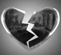 San Valentino cuore infranto