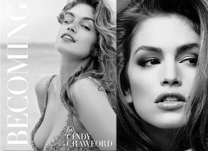 Best fashion and style book releases in autumn / fall 2015 / Cindy Crawford biography Becoming Cindy Crawford book review / via fashionedbylove.co.uk british fashion blog