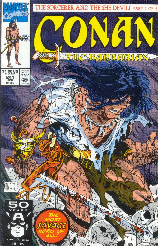 Conan the Barbarian (1970) Issue #241 #253 - English 1