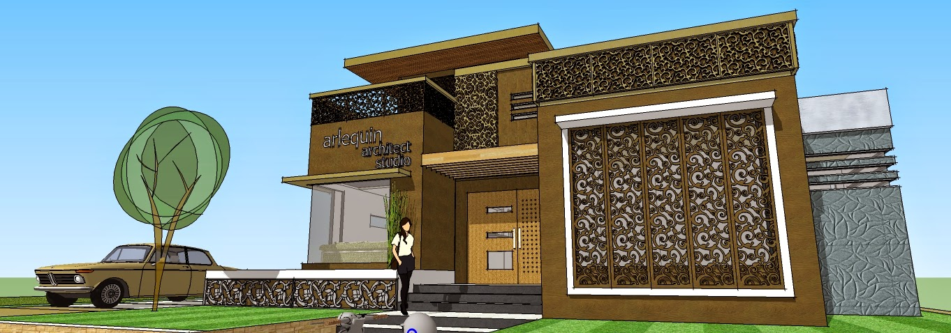 aries pribadie , arlequin architects , desain rumah tinggal bernuansa jawa, desain interior jawa, universitas widya mataram yogyakarta