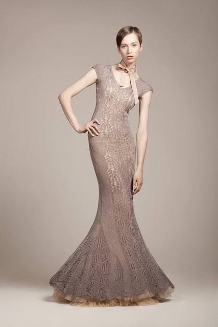 knitting lace maxci dress