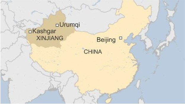 Chinese forces kill 28 people 'responsible for Xinjiang mine attack'