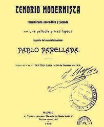 Pablo Parellada, Tenorio Modernista