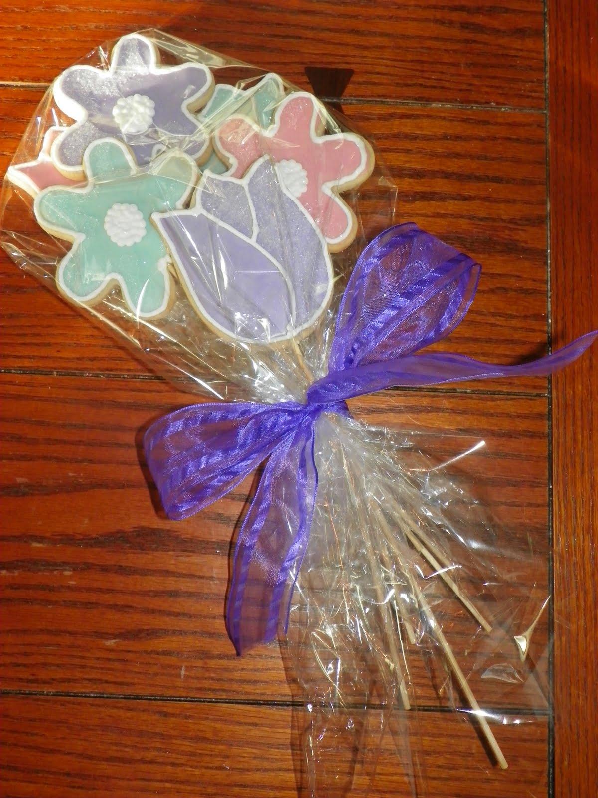 Plumeria Cake Studio: Flower Cookie Bouquet