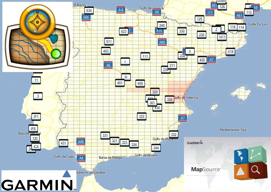 DNDOLO TODO MAPAS TOPOGRFICOS ESPAA GPS GARMIN