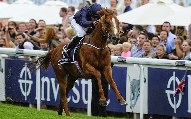 Our 2013 Epsom Derby Selection RULER OF THE WORLD Winning At 10/1