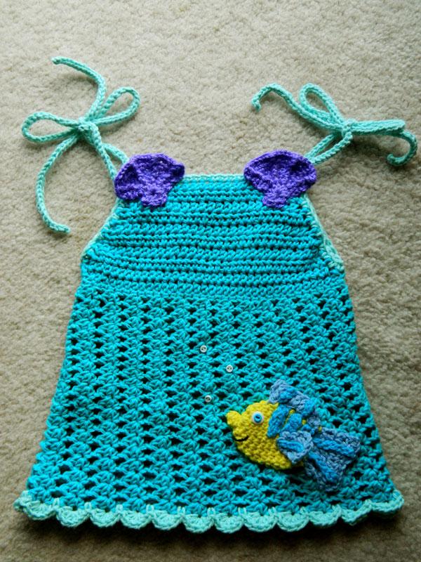 Crochet D Lane Little Mermaid Inspired