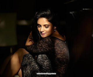 Divya Spandana hot transperant dress Stills