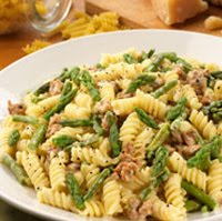 My Memphis Mommy Recipe Of The Day Olive Garden Rotini With Sausage And Asparagus