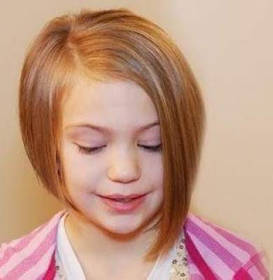 Model bob pendek untuk anak perempuan 369852147