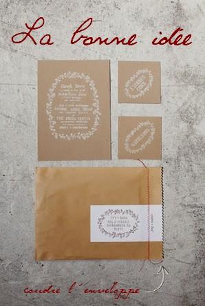 Kraft DIY blog mariage