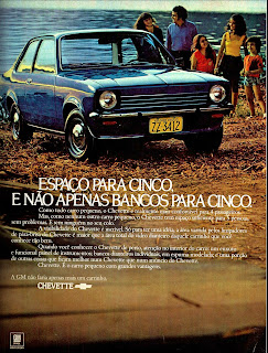 propaganda Chevette GM - 1973, 1973. brazilian advertising cars in the 70. os anos 70. história da década de 70; Brazil in the 70s. propaganda carros anos 70. Oswaldo Hernandez.