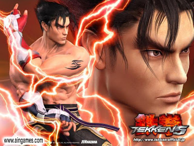 Free Download PC Games Tekken 5 (Jin) Full Rip Version