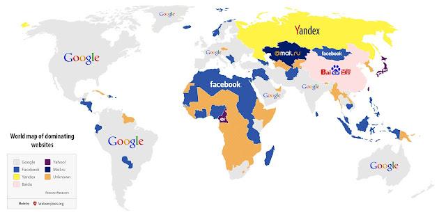 sitios más visitados de internet