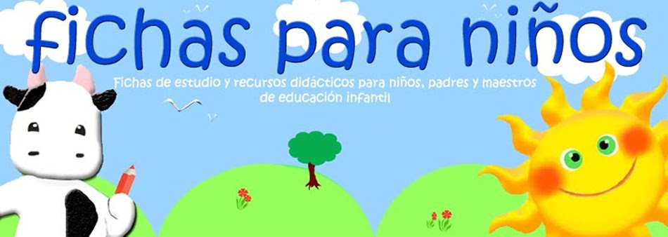 FICHAS PARA NIOS