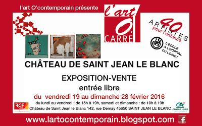 SAINT-JEAN-LE-BLANC (ORLÉANS) : CAPTON PARTICIPE À L'ART O'CARRÉ