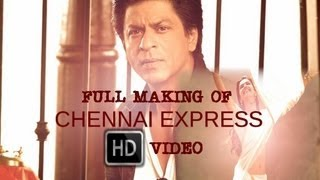 Chennai Express I Full Episode I Behind The Scenes I Shah Rukh Khan & Deepika Padukone
