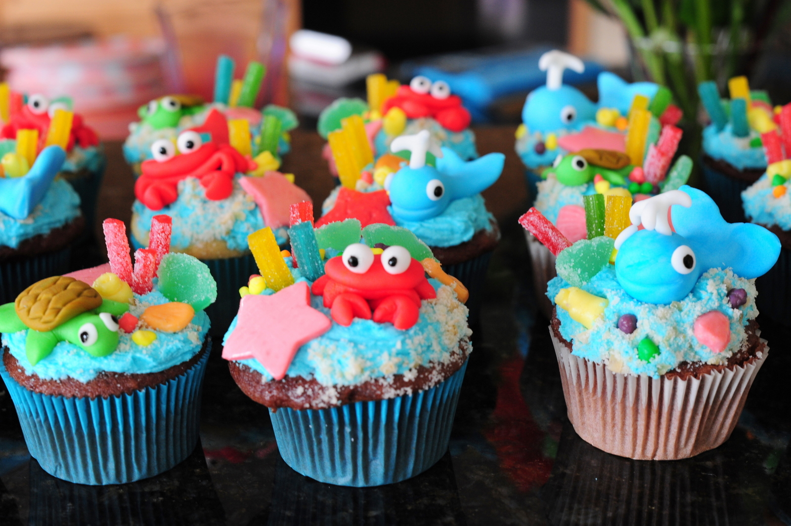 Ocean Themed Birthday Party