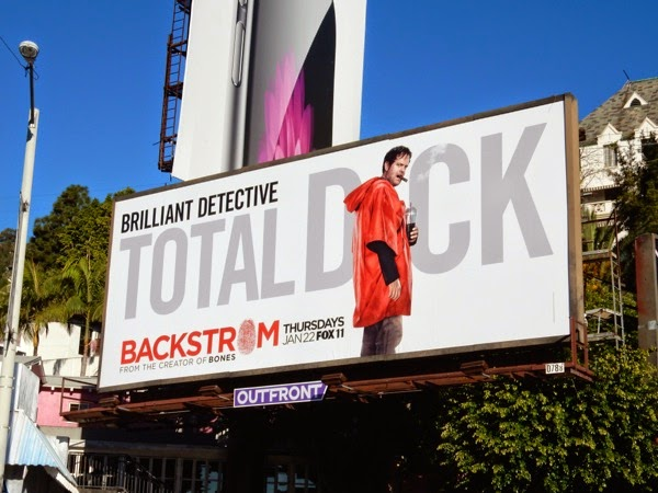 Backstrom Total Dick billboard