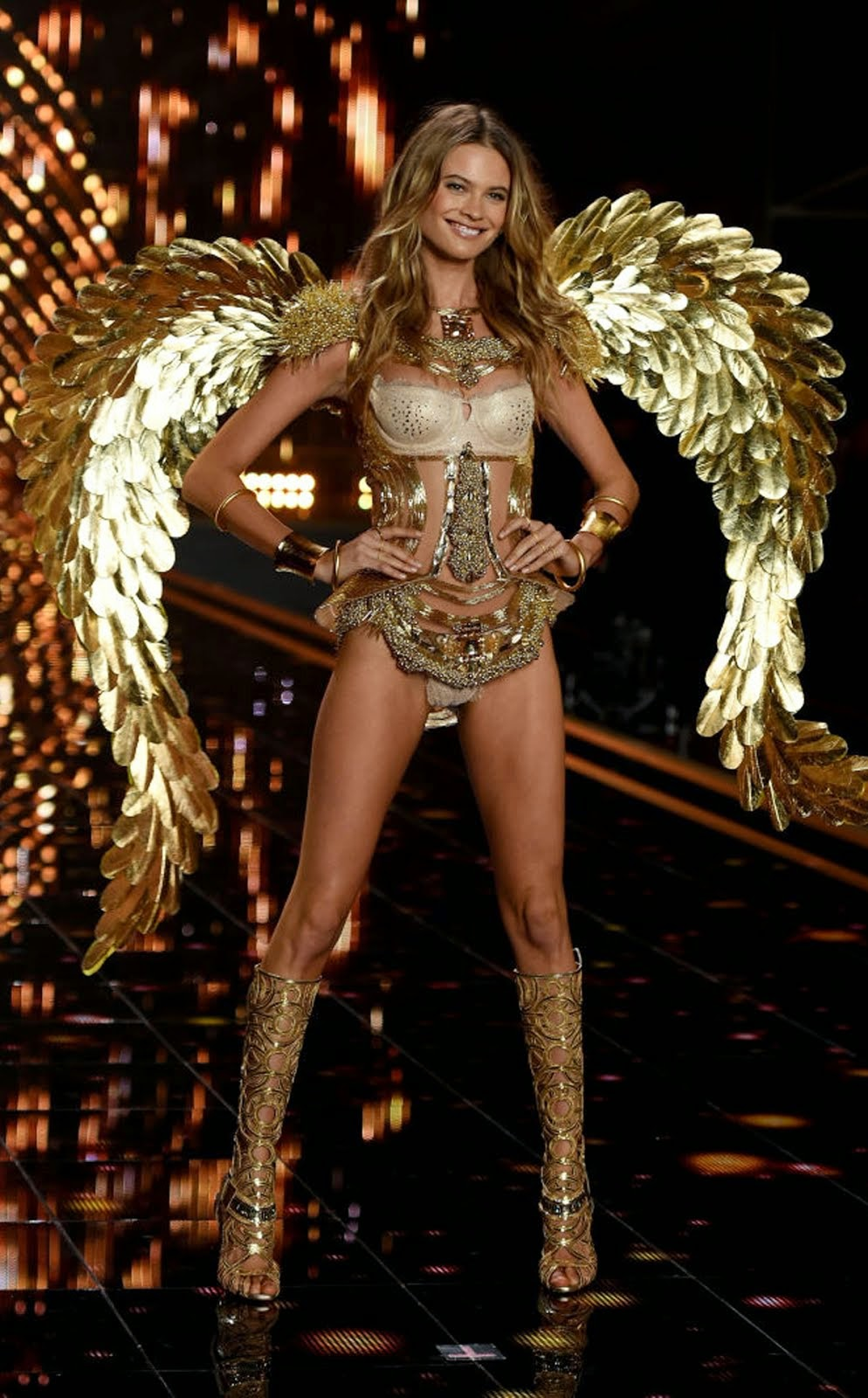 VICTORIA'S SECRET FASHION SHOW 2014 BEHATI PRINSLOO