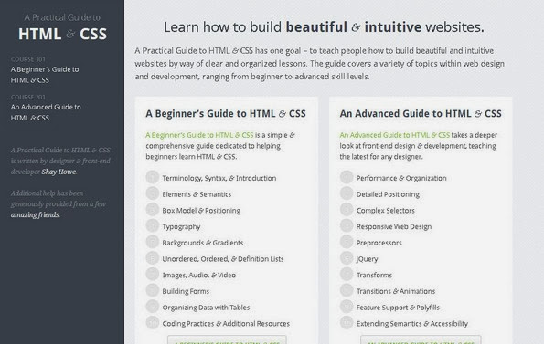Practical HTML CSS guide