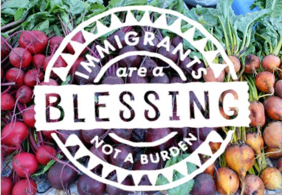 ... Immigrants Blessing Not Burden . Immigrants ...