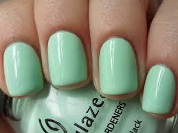 esmalte mint green