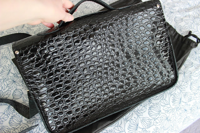 Blog sale Zatchels black crocodile satchel