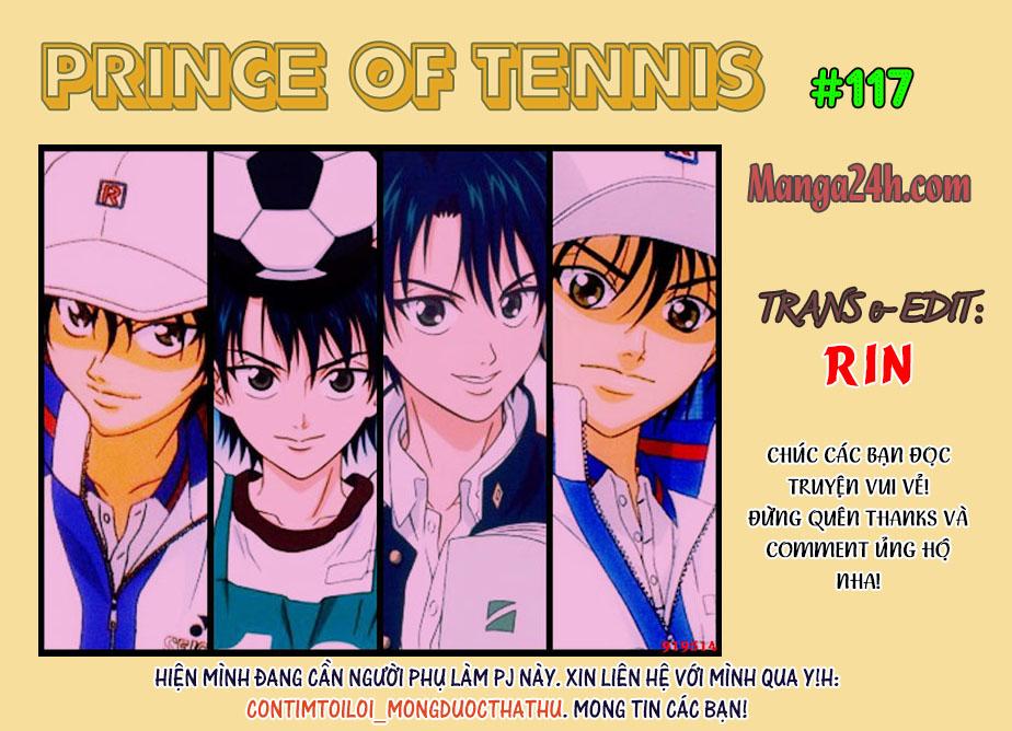 Prince of Tennis chap 117 Trang 1