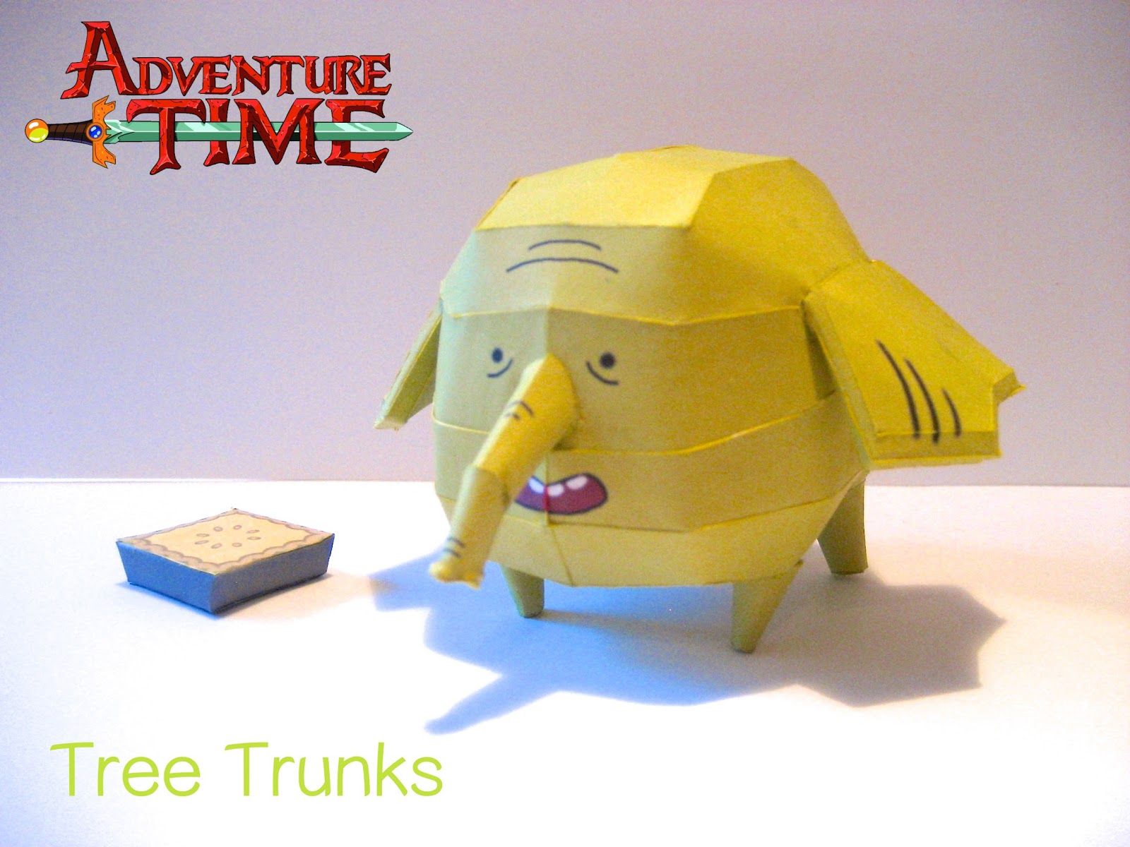 Tree Trunks Paper Model