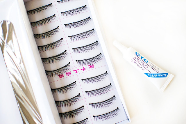 Ebay False Lashes and Glue