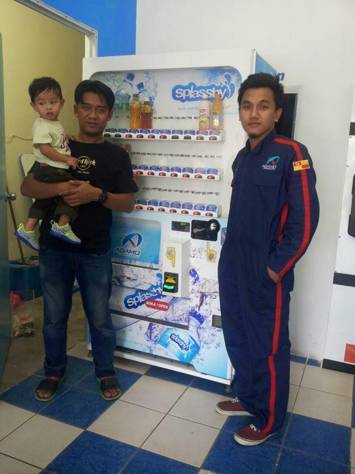 vending machine adamo