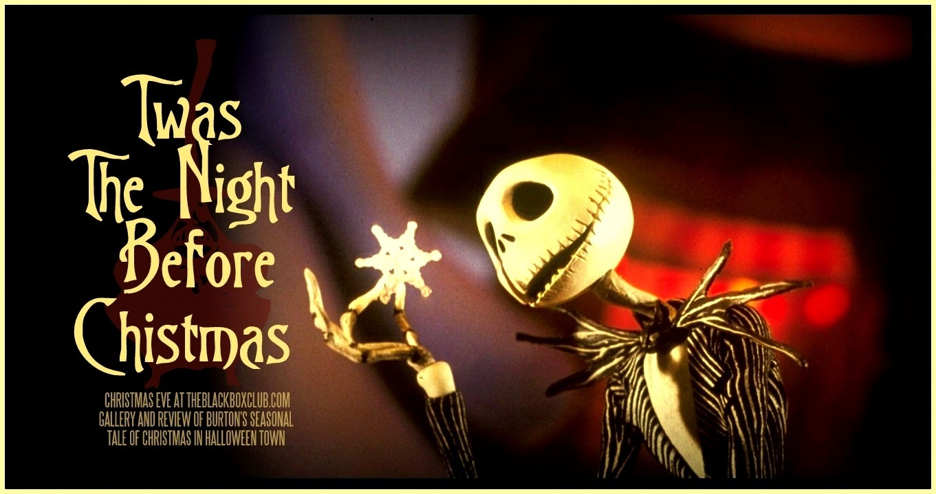 The Black Box Club: THE NIGHTMARE BEFORE CHRISTMAS: TIM BURTON ...