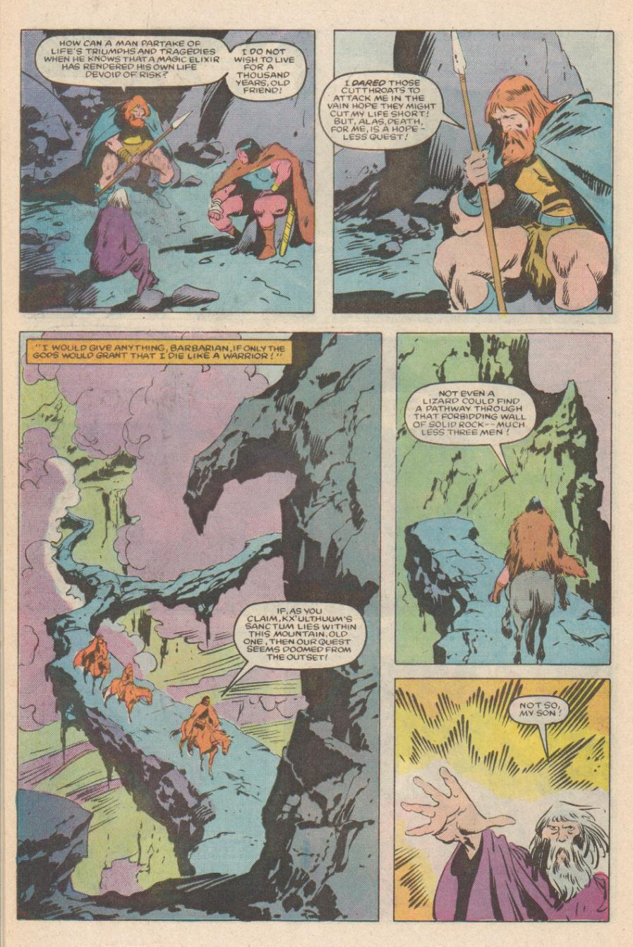 Conan the Barbarian (1970) Issue #170 #182 - English 17