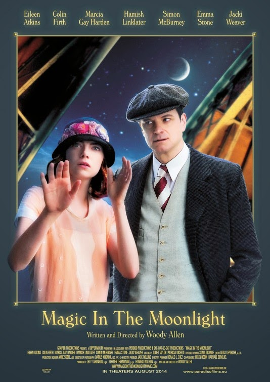 Magic in the Moonlight (2014) Poster