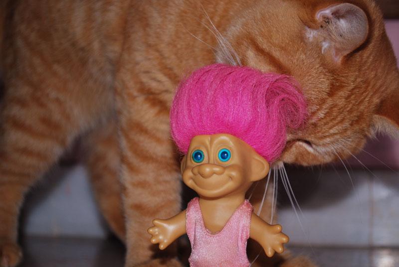 super carlos troll doll