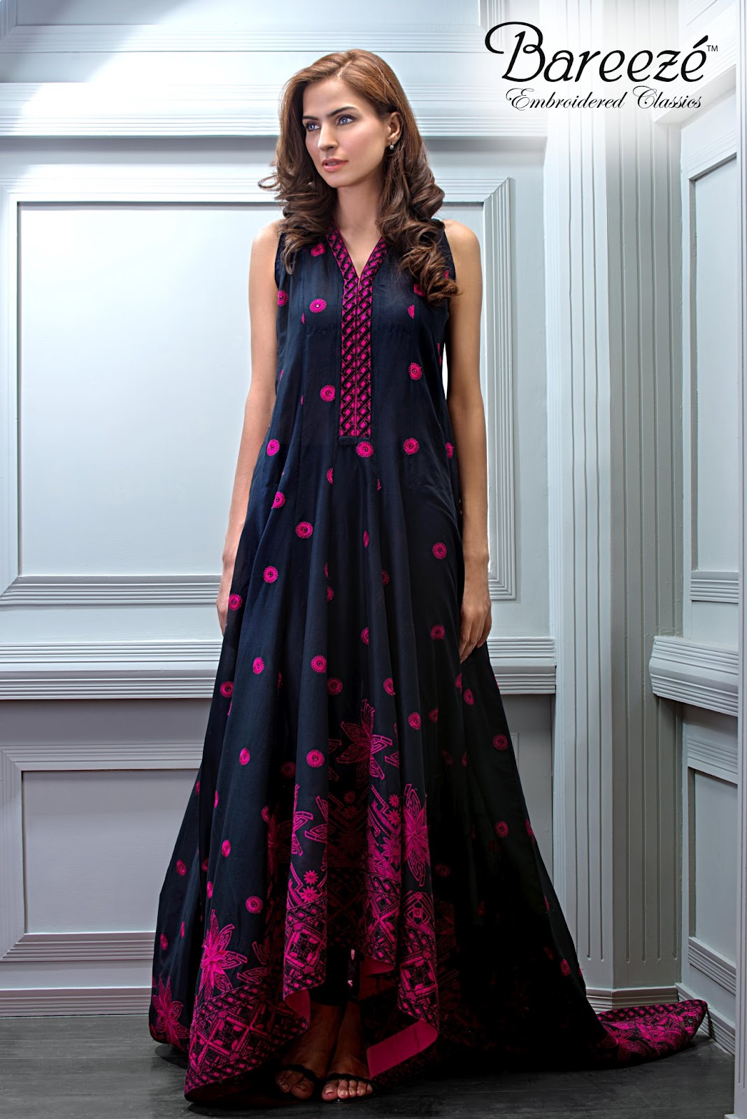 Bareeze live dresses gallery bareeze fashion brand photos designs - Bareeze Embroidered Classic Embroidered Party Wear
