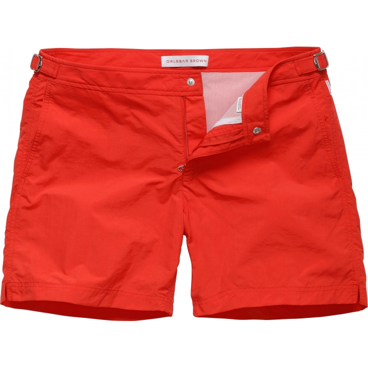 00O00 Menswear Blog: Mark Wright in Orlebar Brown Bulldog red swim shorts - Spain May 2013