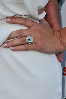 Kim Kardashian diamond ring