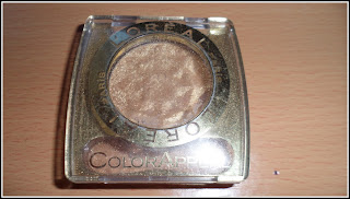 Shopping My Stash! Loreal Color Appeal Eyeshadow in 151 Pure Gold ( review and swatches! )