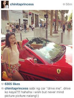 Xian Lim, Kim Chiu Together In Paris For Vacation