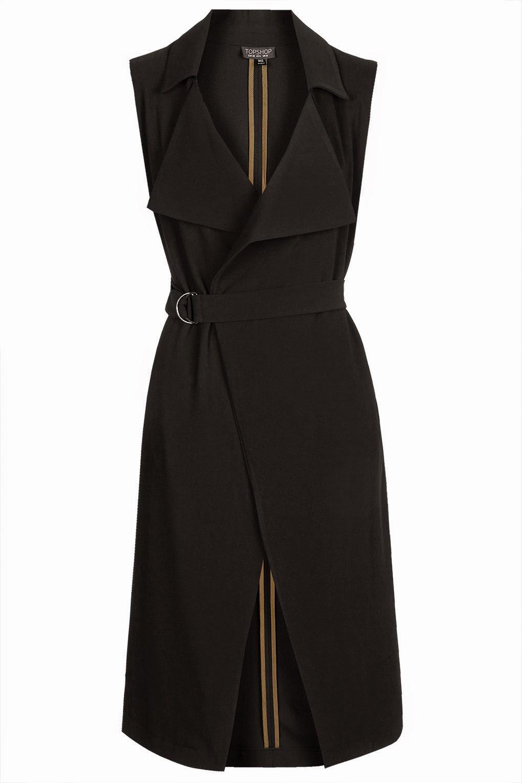 black sleeveless jacket,