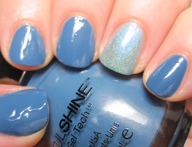 Sinful Shine Bottoms Up with SuperChic Lacquer Rive Gauche