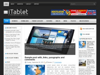 Itablet template Seo Friendly