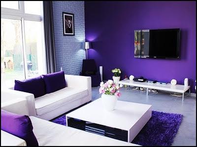 contoh :: warna permaidani, sofa dan juga langsir
