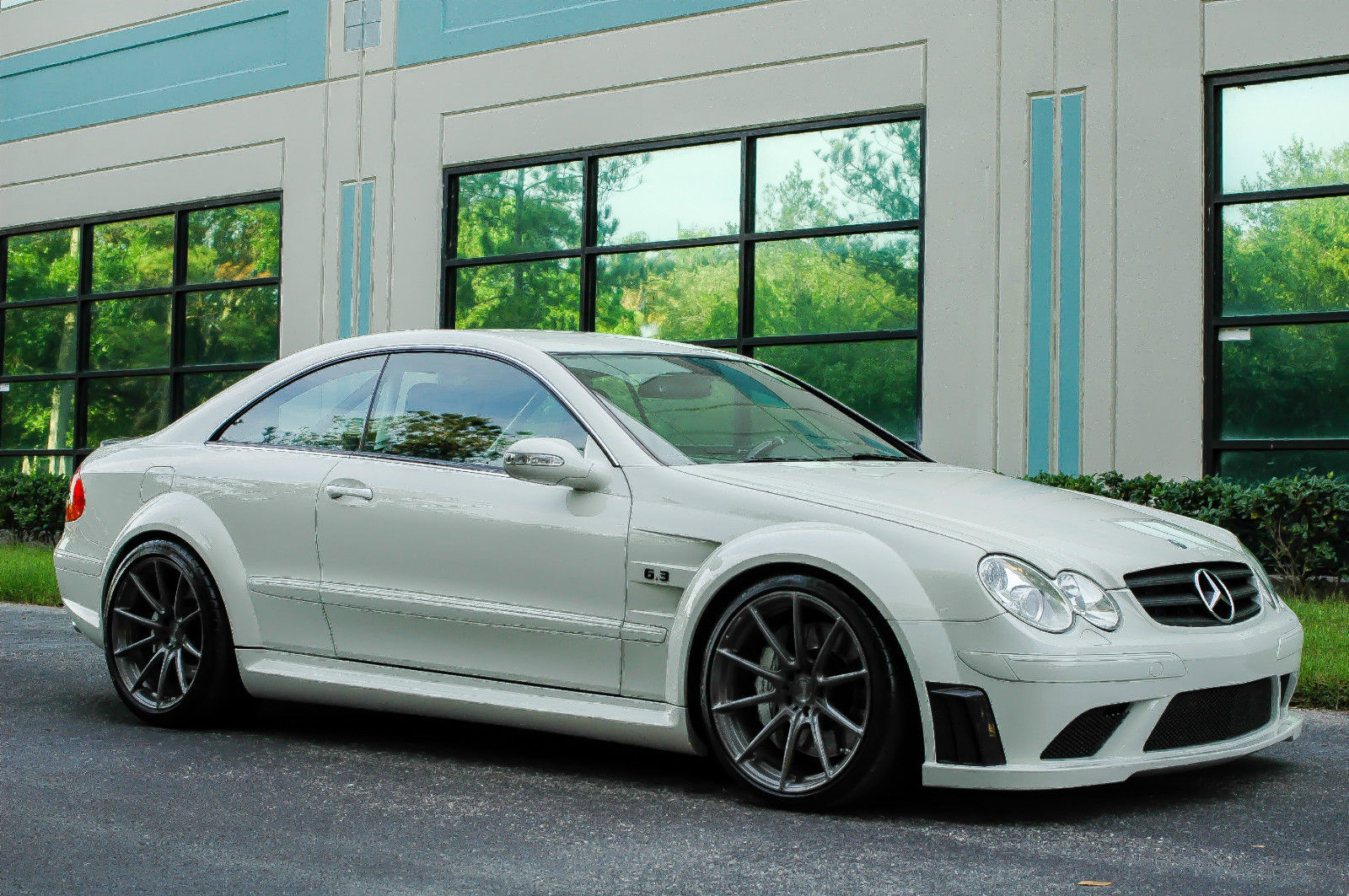 2008 mercedes clk 63 amg black series will grow some hair on your chest. Black Bedroom Furniture Sets. Home Design Ideas