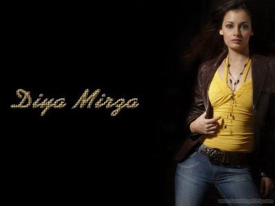 Diya Mirza Pretty Wallpapers