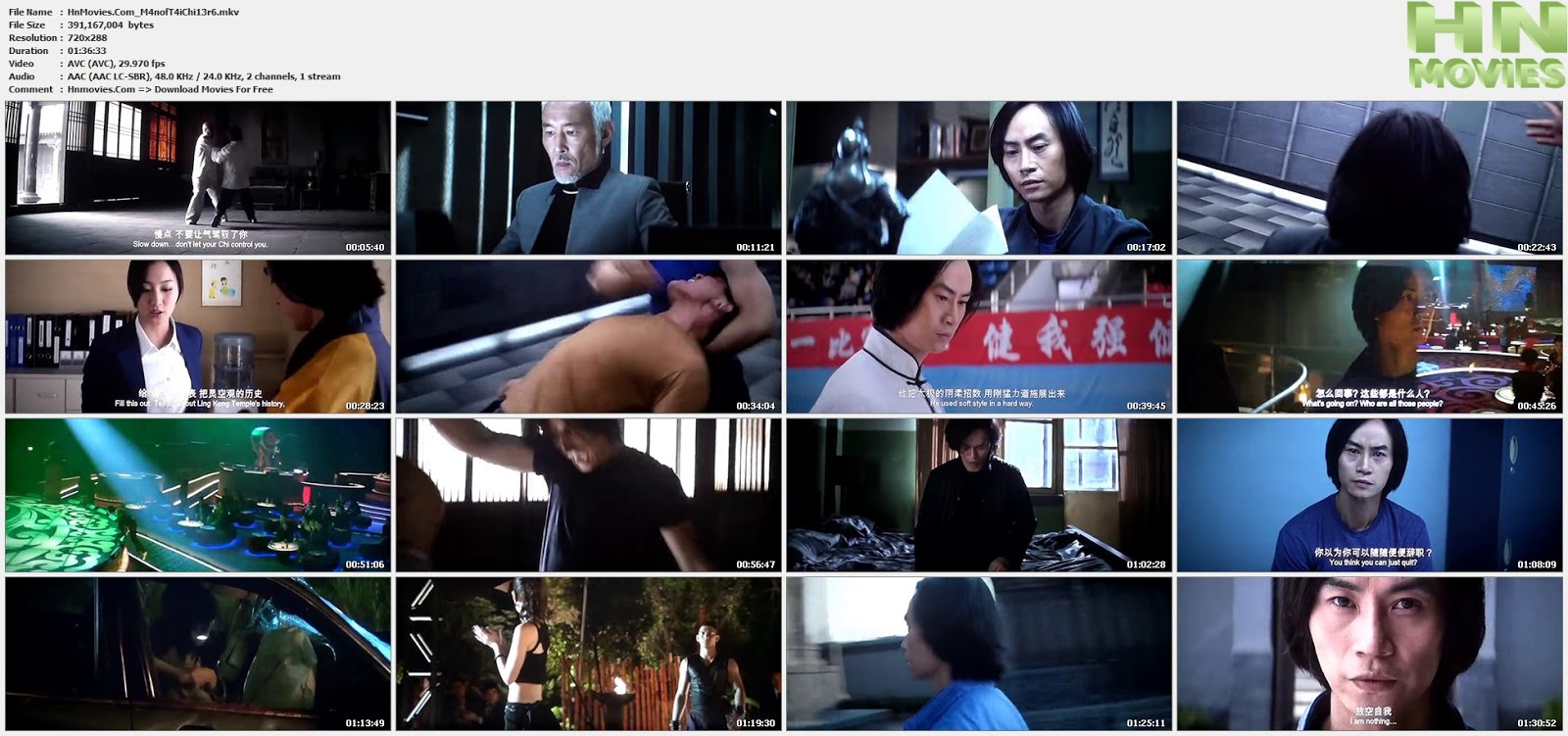 movie screenshot of Man of Tai Chi fdmovie.com