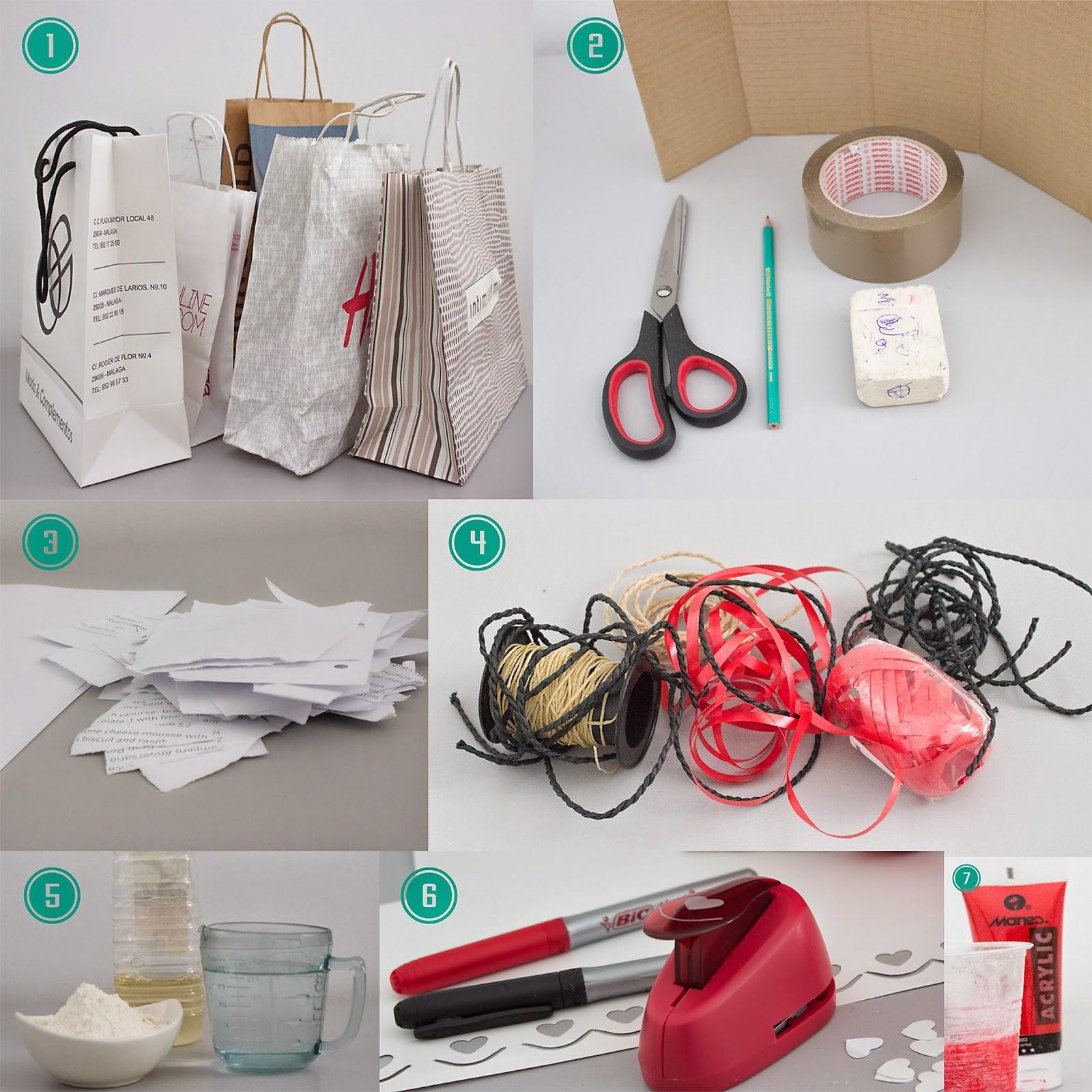Materiales piñata